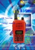 new!!!! hf transceiver walkie-talkie cordless radio<UHF/VHF>(emergency alarm/calling/vox function)