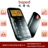 original b100 white big words senior mobile phone