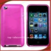 pink silicone for ipod 4