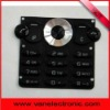 plastic cell phone keypad for sony W302-5