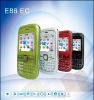 quad band dual sim card phone  E86 with  TV