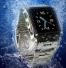 quad band watch cell phone w818 support mp3 gprs