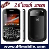 qwerty keyboard WIFI Tv cell phone w9000