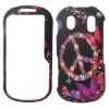 rubber coating snap-on cell phone case for Samsung U460