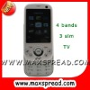 slider cell phone  with TV