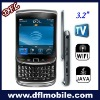 slider touch screen dual sim w9800 phone with wifi tv