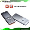 slim dual sim TV China mobile phone