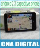 """smart GPS 3G mobile HD7(H7300) Android 2.3 MTK6573 3G Cellphone HD7 4.3"""" Capacitive Unlocked Mobile Phone"""