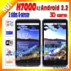 support dual sim card android phones HERO H7000