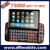 t5000 with wifi tv java2.0 slider qwerty keyboard mobile phone