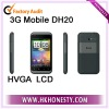 touch 3.5inch 4 band GSM mobile phone