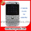 tri sim card cellular phone E19