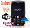 tv phone 8900TV Qwerty keyboard With Trackball design