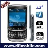 w9800 mobie phones with wifi tv Full QWERTY keyboard