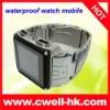 waterproof cell phone watch