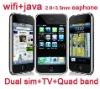 wifi mobile phone f003,TV phone