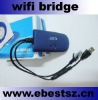 wireless bridge with RJ45 ethernet wifi bridge