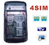 F160 tv mobile phone,4 sim cards