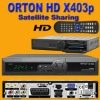 Hot Sell High Definition ORTON X403p HD tv decoder,Support CCcam.cfg