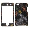 rubber coating snap-on cell phone case for Iphone touch 4